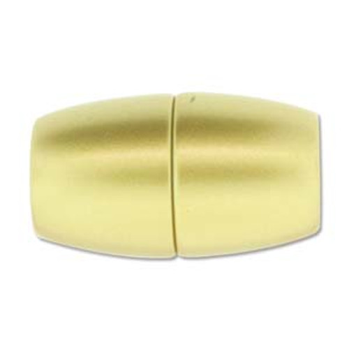 Acrylic Magnetic Clasp 41x24mm with 15.5mm ID - Matte Gold