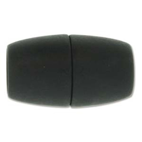 Acrylic Magnetic Clasp 41x24mm with 15.5mm ID - Matte Black