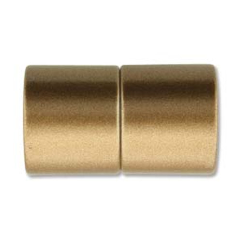 Acrylic Magnetic Clasp 26x15mm with 12mm ID - Matte Bronze (Qty: 1)