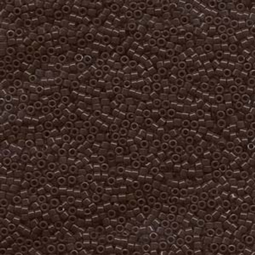 Size 11, DB-0734, Opaque Chocolate Brown (10 gr.)