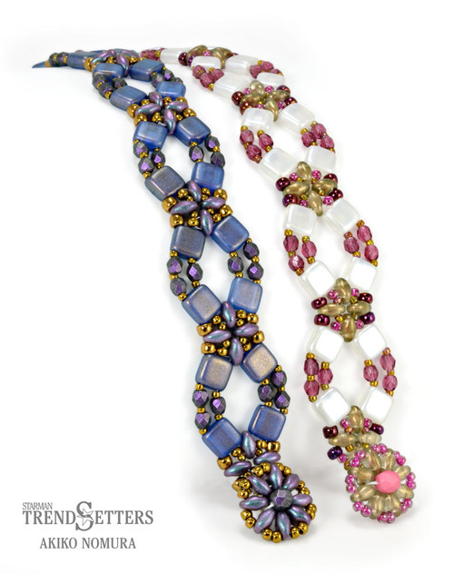 FREE Pattern with $15 Minimum Purchase: Flower Lattice Bracelet (Limit: 3 patterns per order)