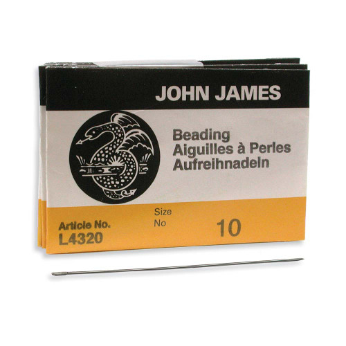 John James Needles - Size 10 (Pkg. of 25)