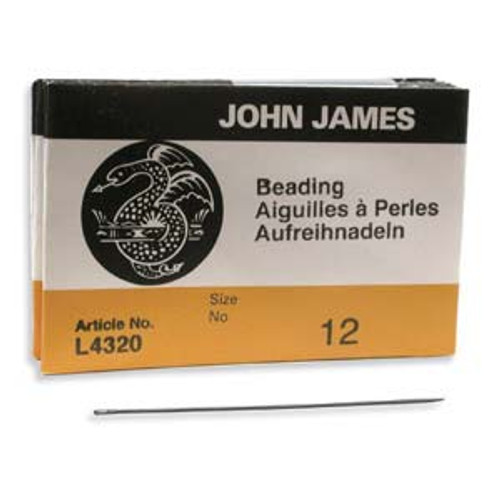 John James Needles - Size 12 (Pkg. of 25)