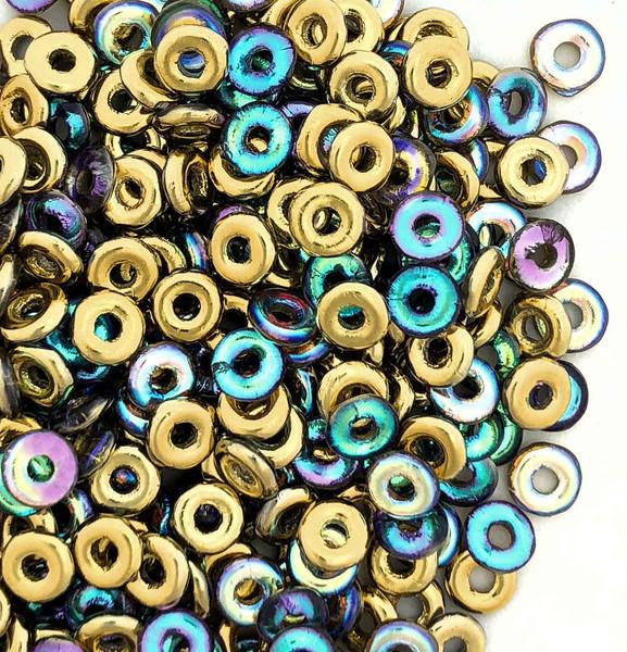 O Beads, Crystal Golden Rainbow (10 gr.)
