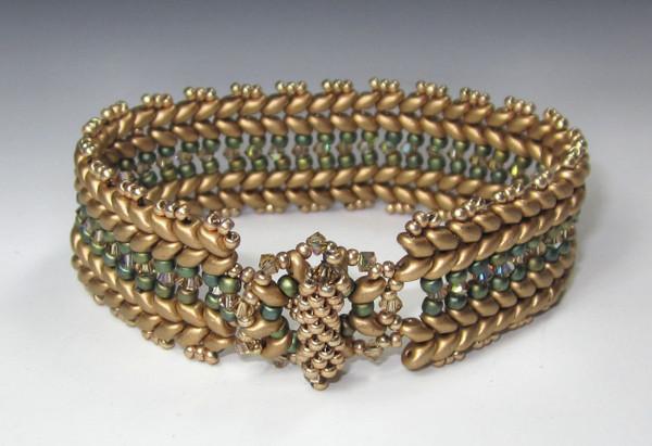 Laurel Wreath Bracelet Instructions Only (Download)