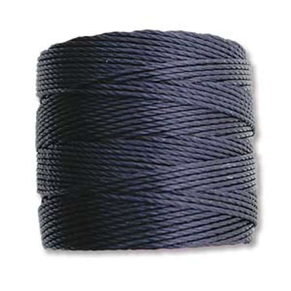 S-Lon Bead Cord, Navy (TEX 210, Medium Weight) (77 yd)