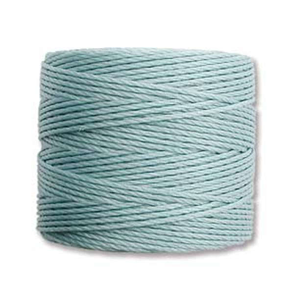 S-Lon Bead Cord, Turquoise (TEX 210, Medium Weight) (77 yd)