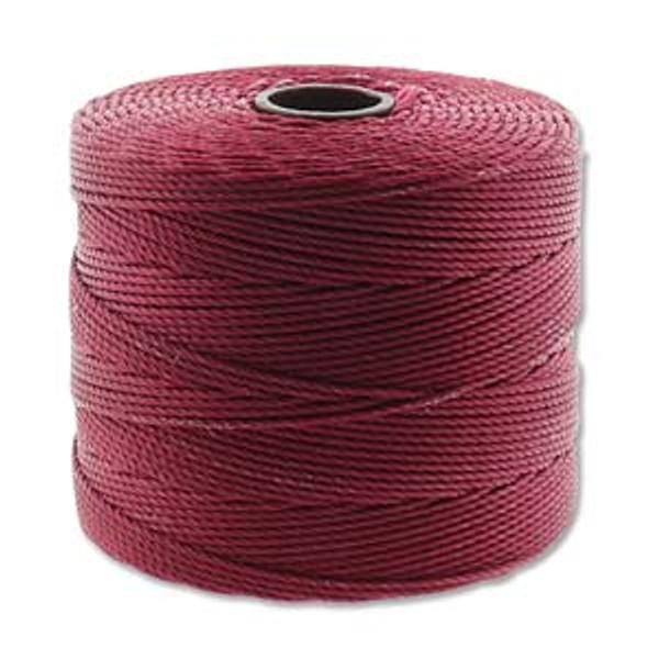 S-Lon Bead Cord, Dark Red (TEX 135, Fine Weight) (118 yd)