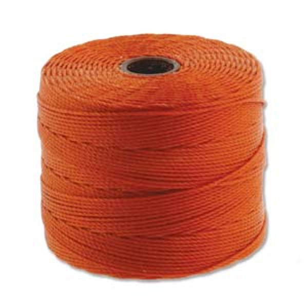 S-Lon Bead Cord, Rust (TEX 135, Fine Weight) (118 yd)