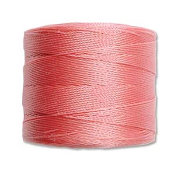 S-Lon Bead Cord, Rose  (TEX 70, Micro Weight) (262 yd)