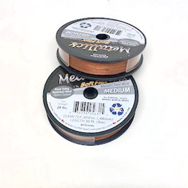 Soft Flex, Copper, .019 Diameter (Medium weight) (30 ft.)