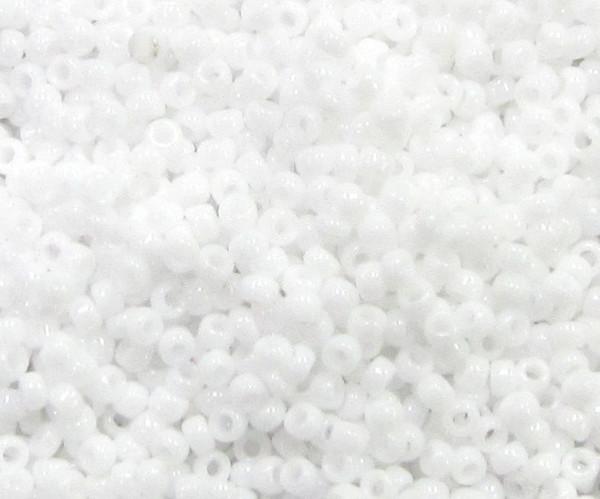 15-0402, Opaque White, Miyuki (14 gr.)