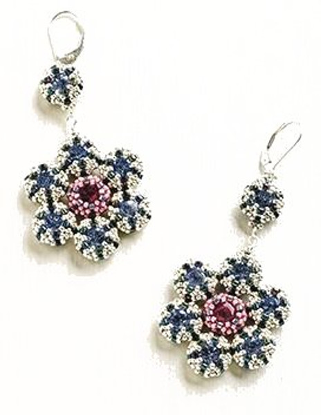Retro Blossom Earrings Instructions Only (Download)