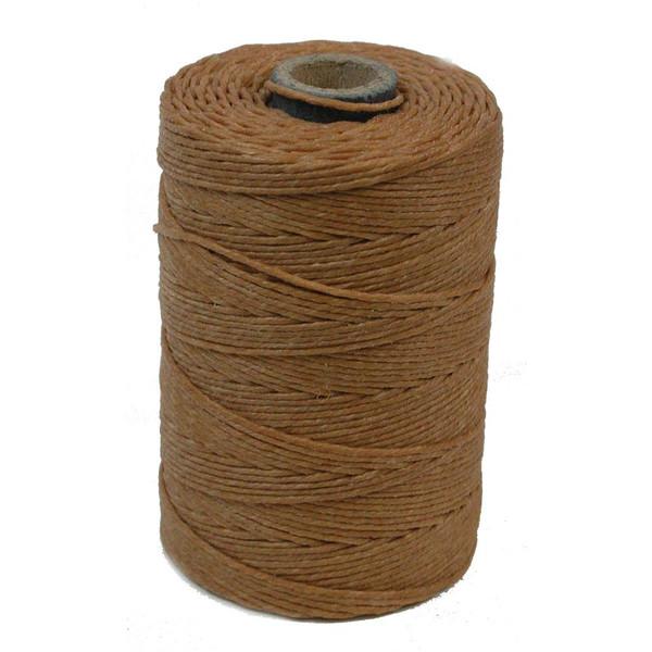 Irish Waxed Linen, 4-Ply, Butterscotch (10 yards)