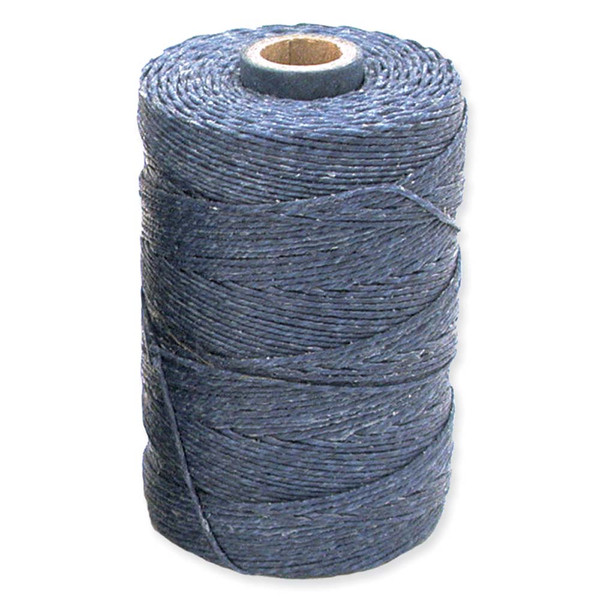 Irish Waxed Linen, 4-Ply, Royal Blue (10 yards)