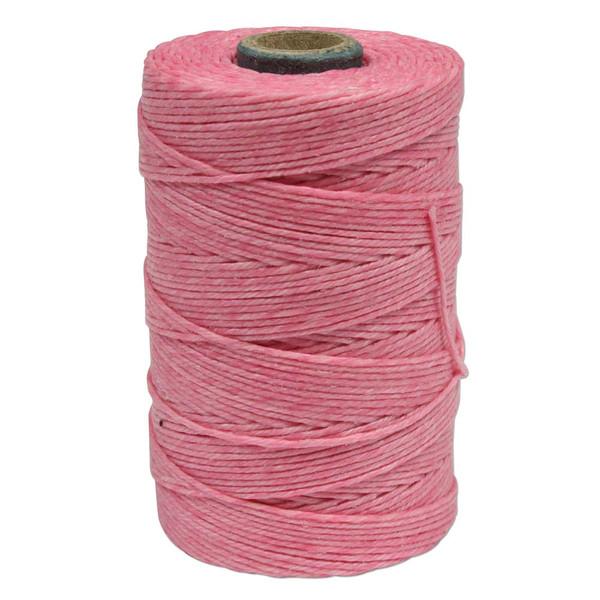 Irish Waxed Linen, 7-Ply, Rose (10 yards)