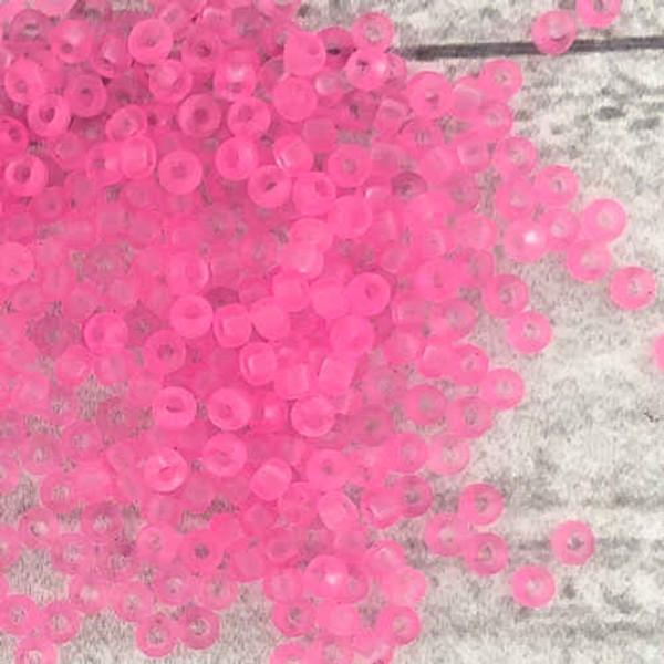 11-0153, Frosted Transparent Shocking Pink (28 gr.) (Matsuno)