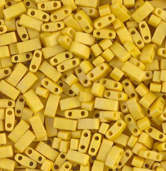 Half Tilas, Matte Opaque Yellow Mustard, Color 2311 (10 grams)