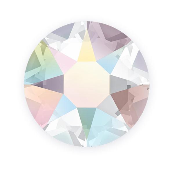 Crystal AB Swarovski Flat Back Crystals, Article 2028, SS 40, Non-HotFix (Qty: 12)