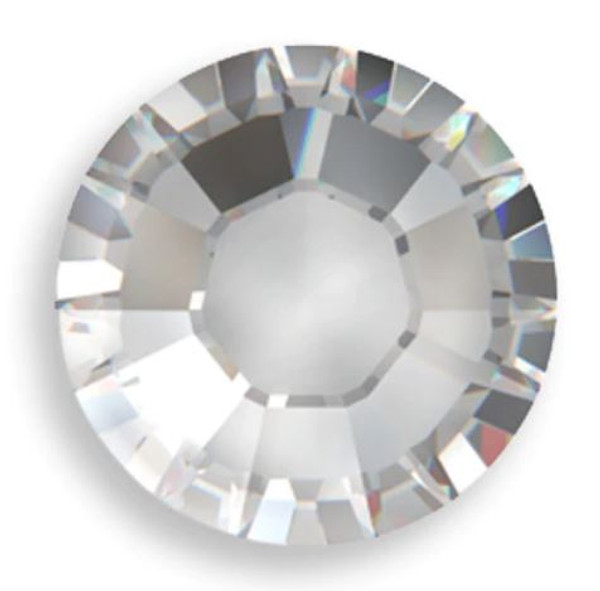 Factory Pack! Crystal Swarovski Flat Back Crystals, Article 2028, SS 40, Non-HotFix (Qty: 144)