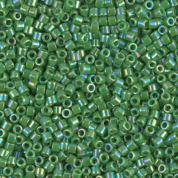 Size 10, DBM-0163, Opaque Green AB (10 gr.)