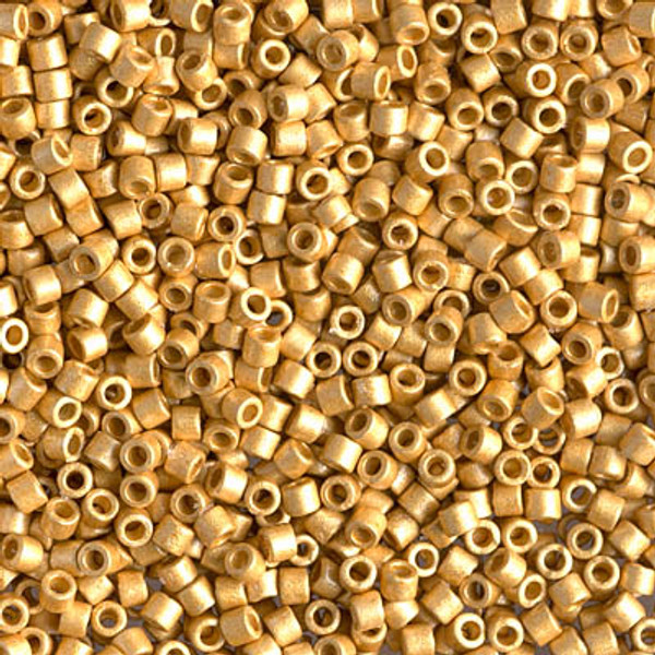 Size 10, DBM-1832F,  Duracoat Galvanized Matte Gold (10 gr.)