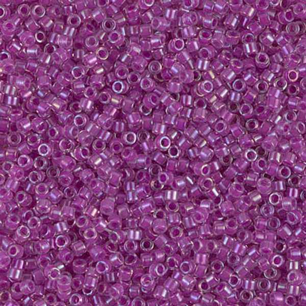 Size 11, DB-0073, Lined Lilac AB (10 gr.)