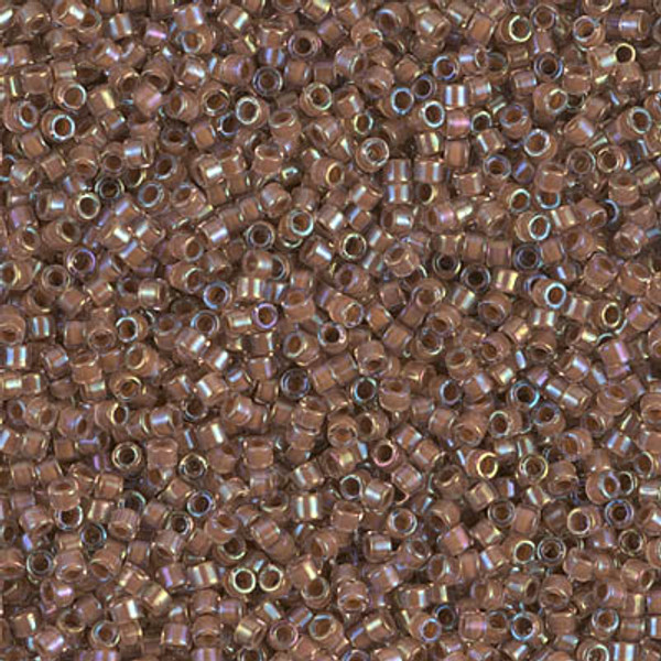 Size 11, DB-1732, Cocoa-Lined Crystal AB (10 gr.)