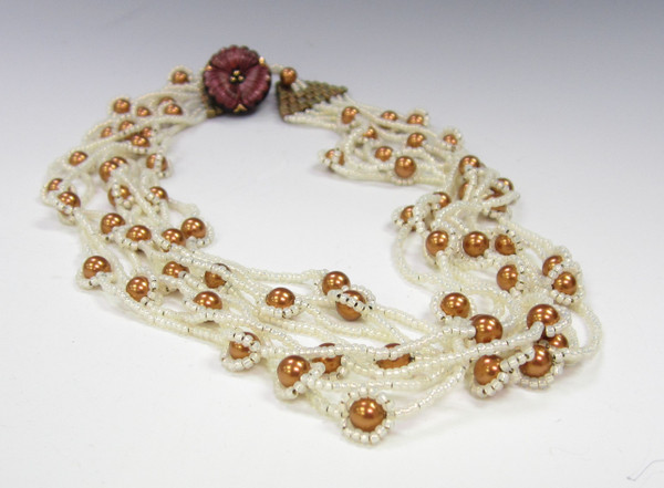 River of Pearls Necklace Instructions Only (Download)