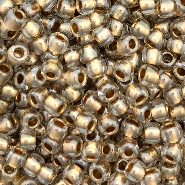 6-0378, Gold-Lined Crystal (28 gr.)