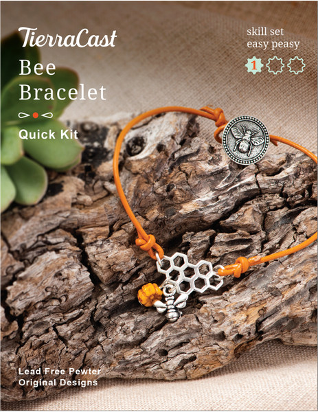 TierraCast Bee Bracelet Kit