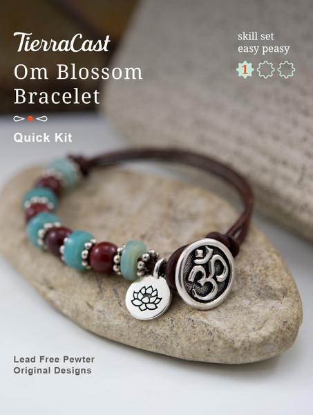 TierraCast Om Blossom Bracelet, Knotting (Beginner)