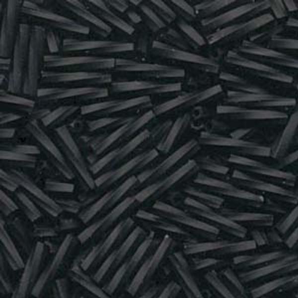 2.7 x 12mm Twisted Bugles, Matte Black (10 gr.)