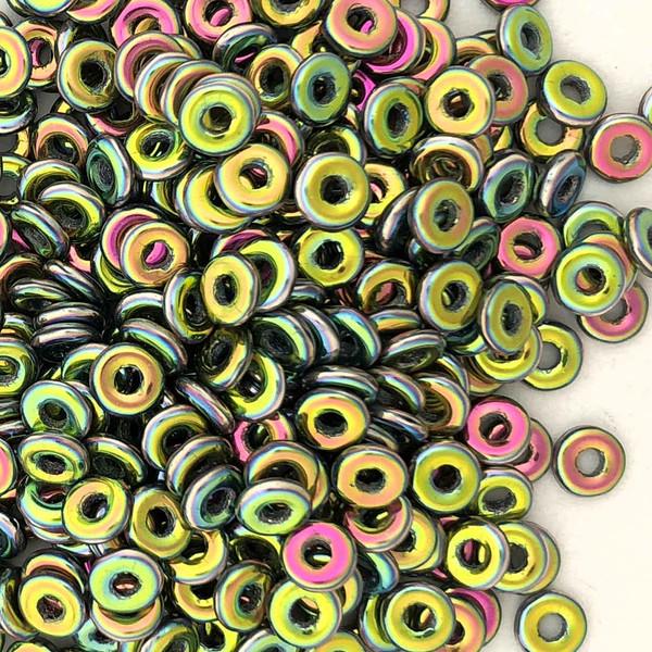 O Beads, Jet Full Vitrail (10 gr.)