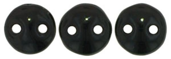 2-Hole Lentils, Jet (Qty: 50)