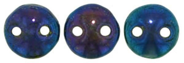 2-Hole Lentils, Blue Iris (Qty: 50)