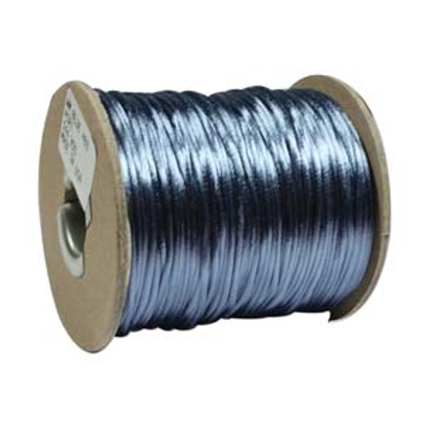 2mm Satin Cord (Rattail), Williamsburg Blue (6 yds.)