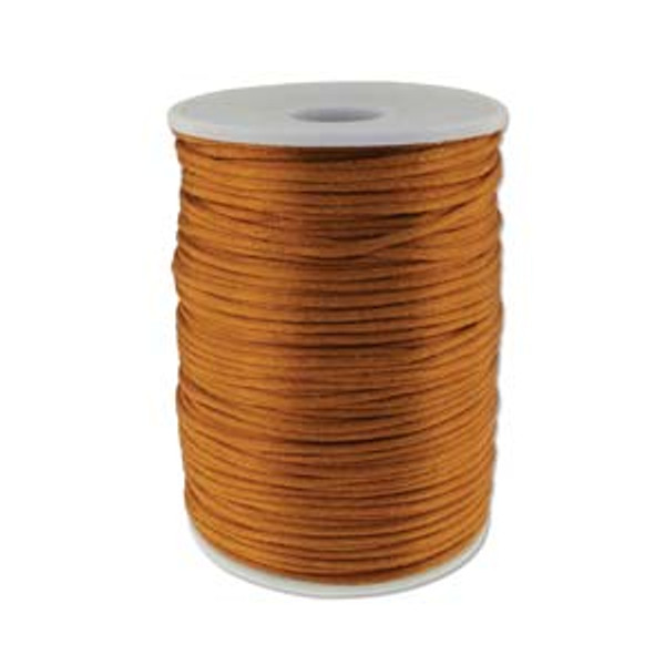 2mm Satin Cord (Rattail), Luggage (6 yds.)