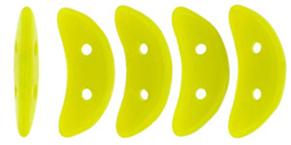 Crescent Beads, Chartreuse (10 gr.)