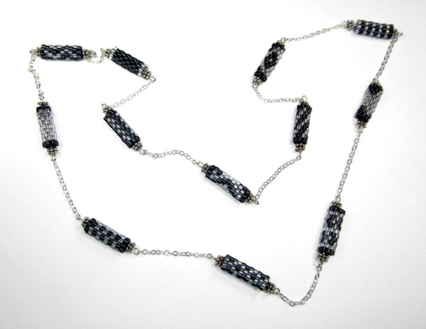 Peyote Tube Necklace - Kit Contents Only