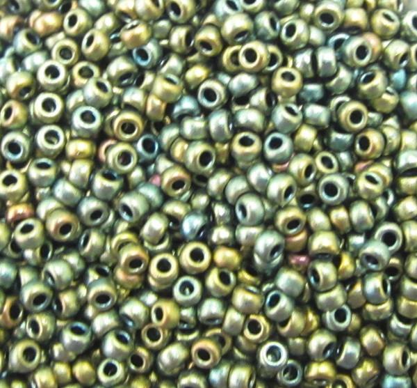 11-F0460G, Matte Green Gold Iris (28 gr.)