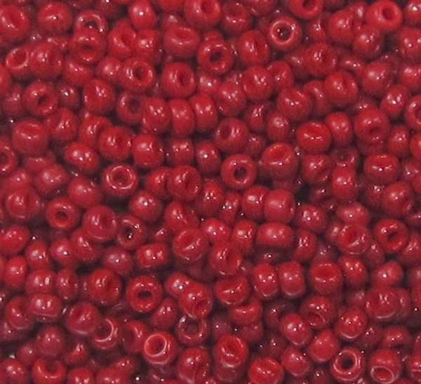 11-0407A, Opaque Vermillion Red (Miyuki) (28 gr.)
