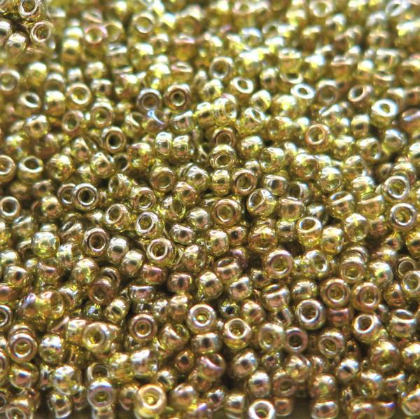 11-0318J, Light Olivine Gold Luster (Miyuki) (28 gr.)