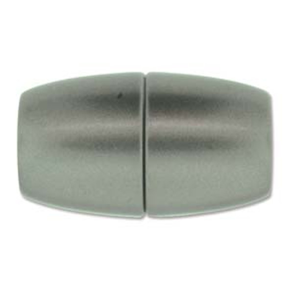 Acrylic Magnetic Clasp 41x24mm with 15.5mm ID - Matte Granite (Qty: 1)