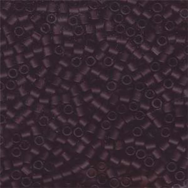 Size 8, DBL-1264, Matte Transparent Dark Amethyst (10 gr.)