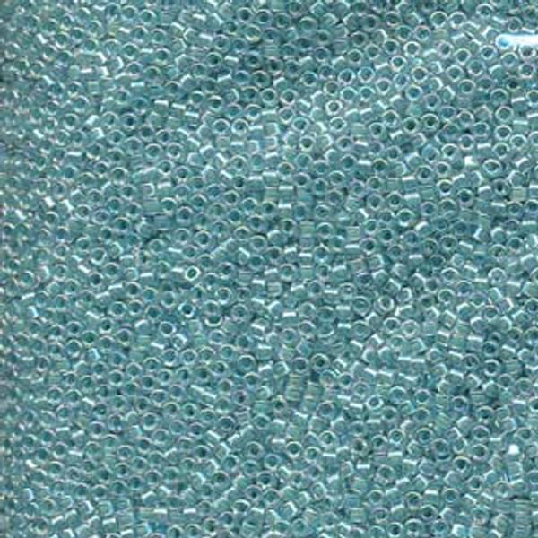 Size 11, DB-0079, Lined Aqua Blue AB (10 gr.)