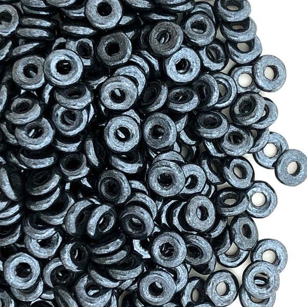 O Beads, Hematite (10 gr.)