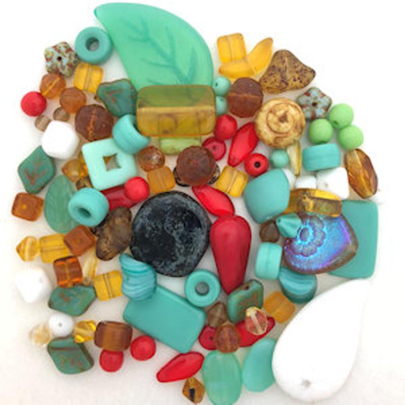 Glass Bead Mix, Southwest (60 gr.)