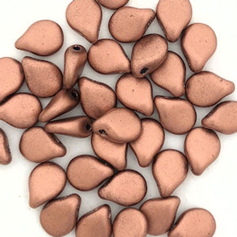 Pip Beads, Copper (Qty. 35)