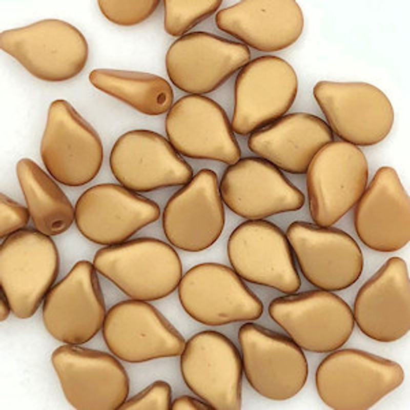 Pip Beads, Aztec Gold (Qty. 35)